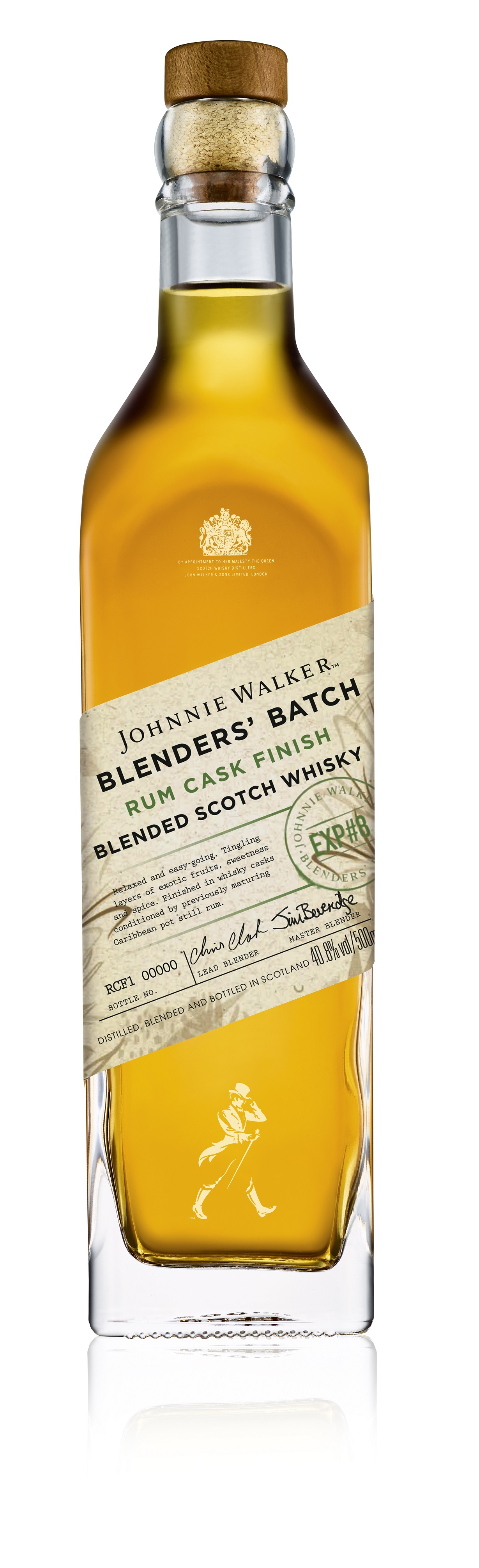 Johnnie Walker Blenders Batch Rum Finish Whisky