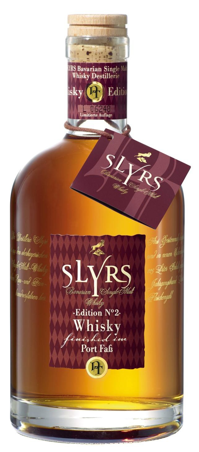 Slyrs Whisky Port Fass Edition No. 2 350ml