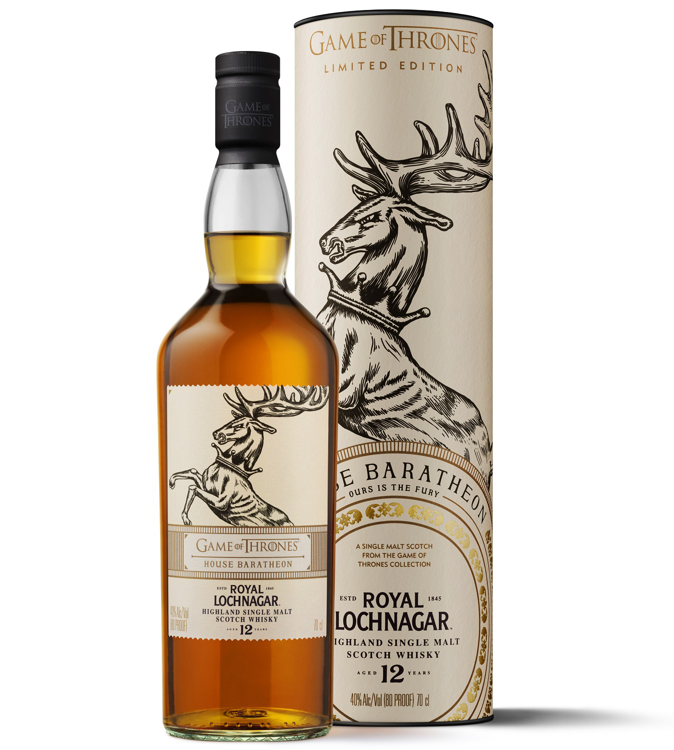 Royal Lochnagar 12 Jahre Games of Thrones Whisky
