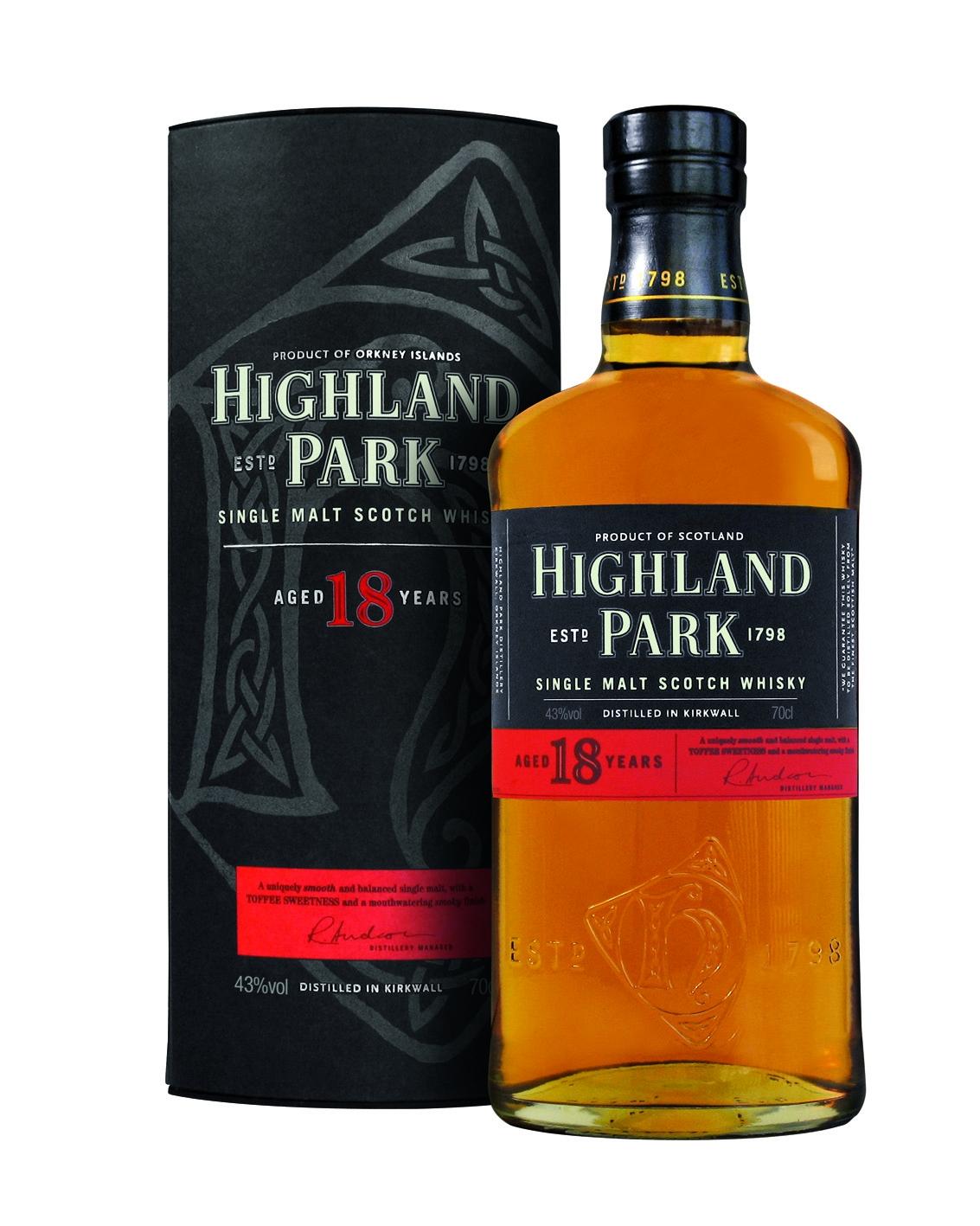 Highland Park 18 Jahre Single Malt Whisky
