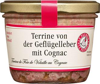 Terrine von der Geflügelleber mit Cognac