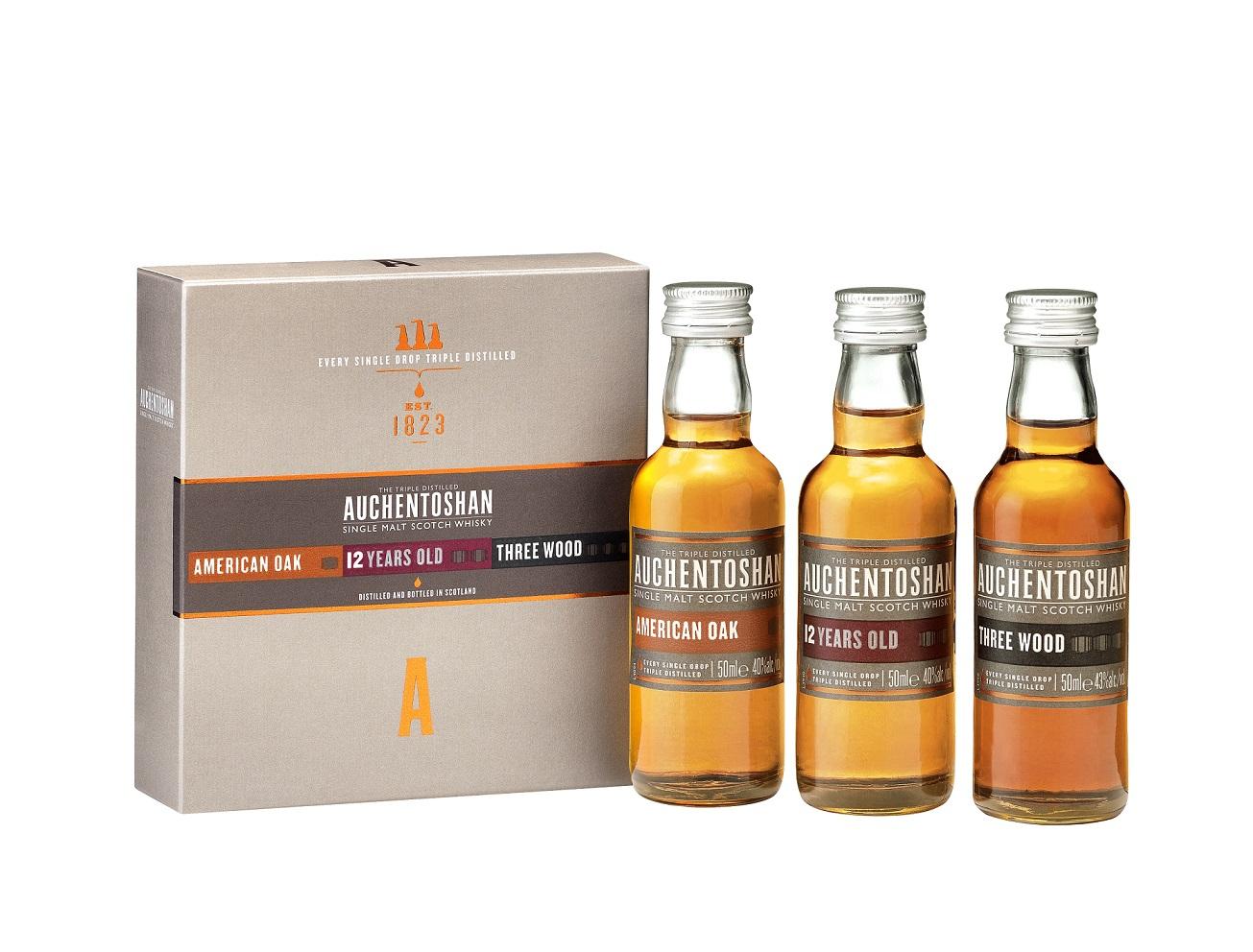 Auchentoshan Miniaturenset Whisky