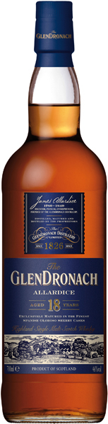 Glendronach 18 Jahre Allardice Whisky