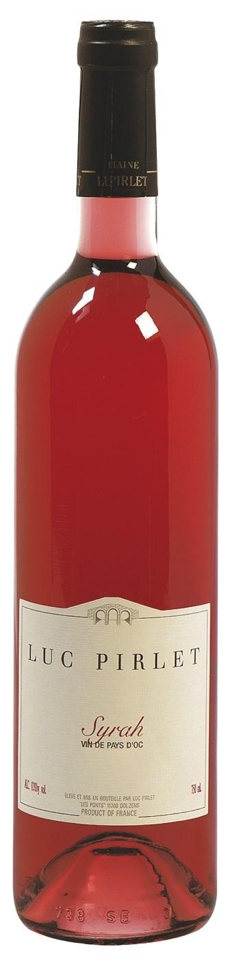 Syrah rosé IGP Luc Pirlet