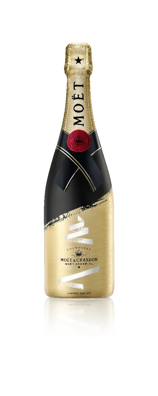 Champagner Moet & Chandon brut Weihnachtsedition