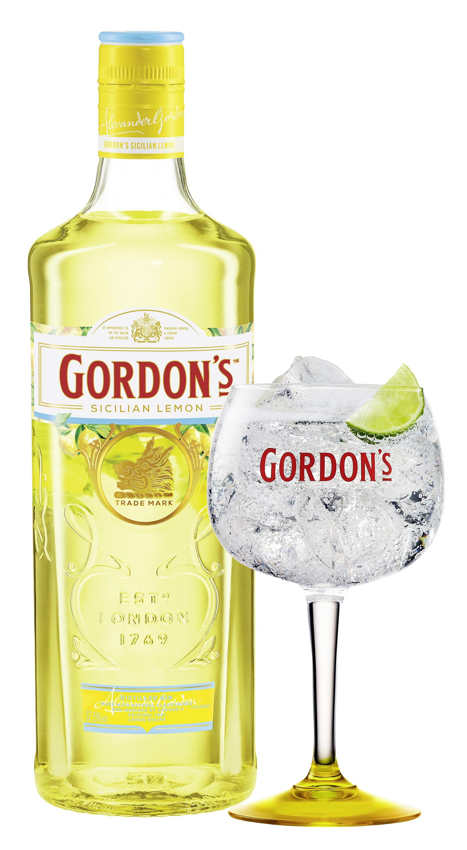 Gordons Sicilian Lemon Gin