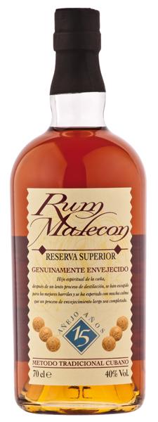 Malecon Rum Reserva Superior 15 Jahre
