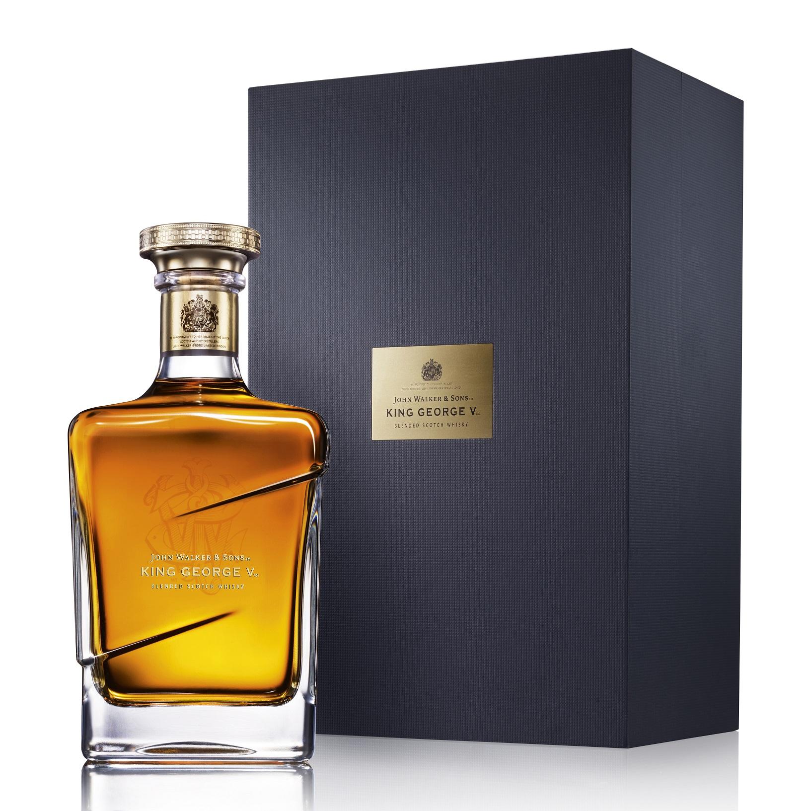 Johnnie Walker Blue Label King George V Whisky
