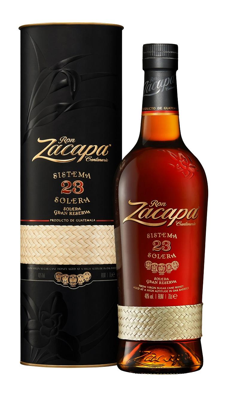 Ron Zacapa Rum Centenario Sistema Solera 23 Gran Reserva