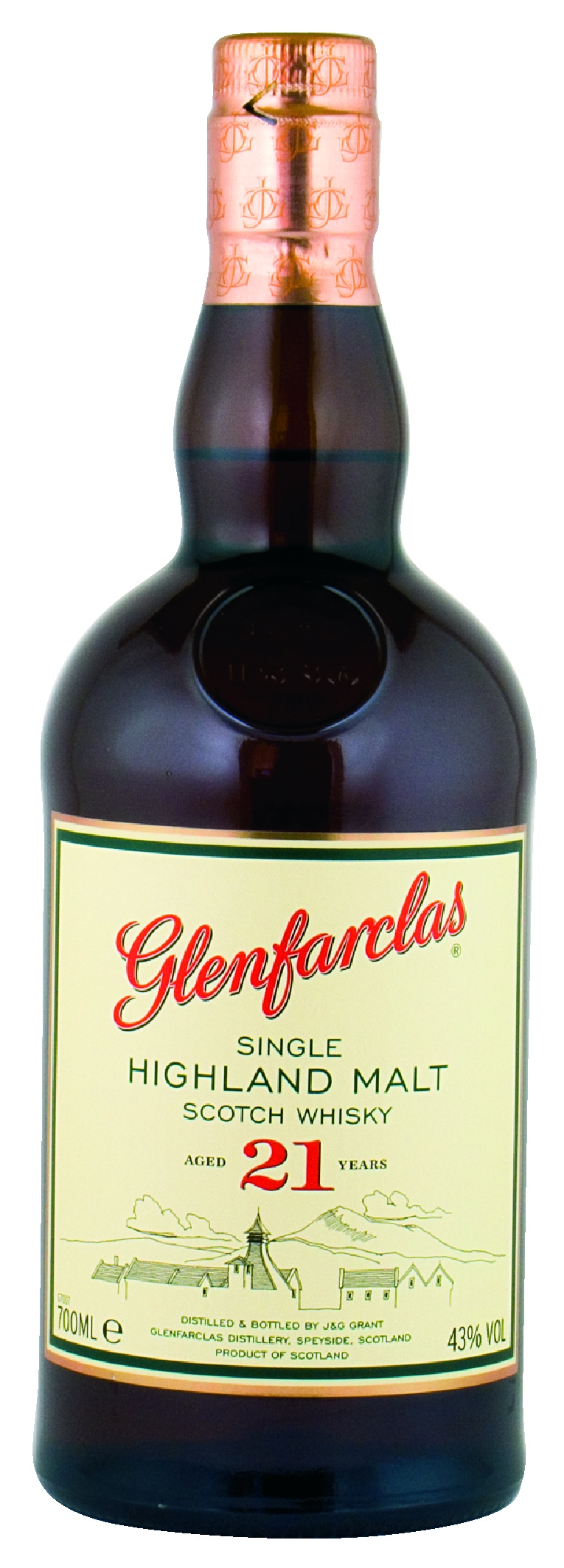 Glenfarclas 21 Jahre Single Malt Whisky