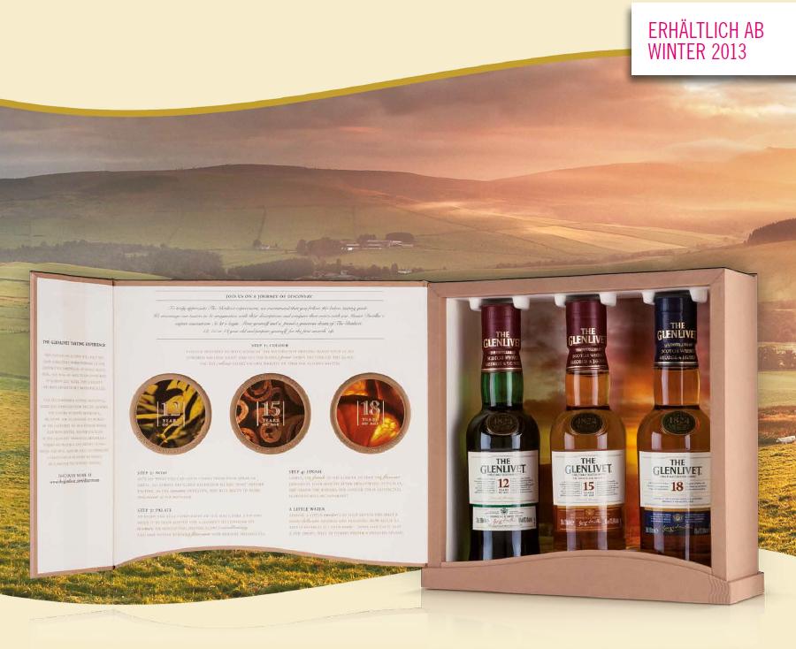 The Glenlivet Single Malt Whisky Tastingset