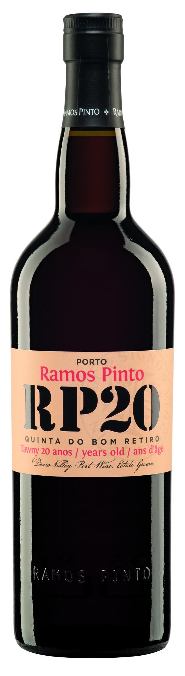 Ramos Pinto Port 20 Jahre Quinta do Bom Retiro