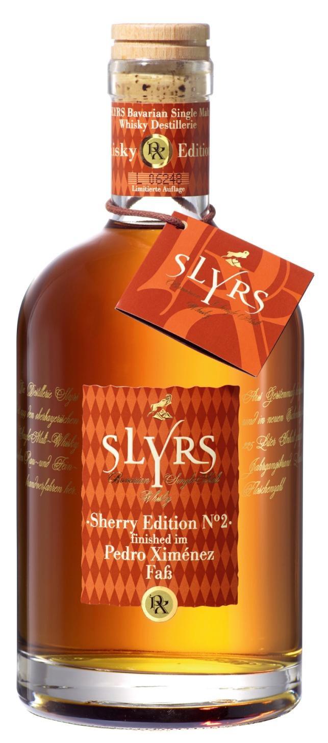 Slyrs Whisky Pedro Ximenez  Finish 350ml
