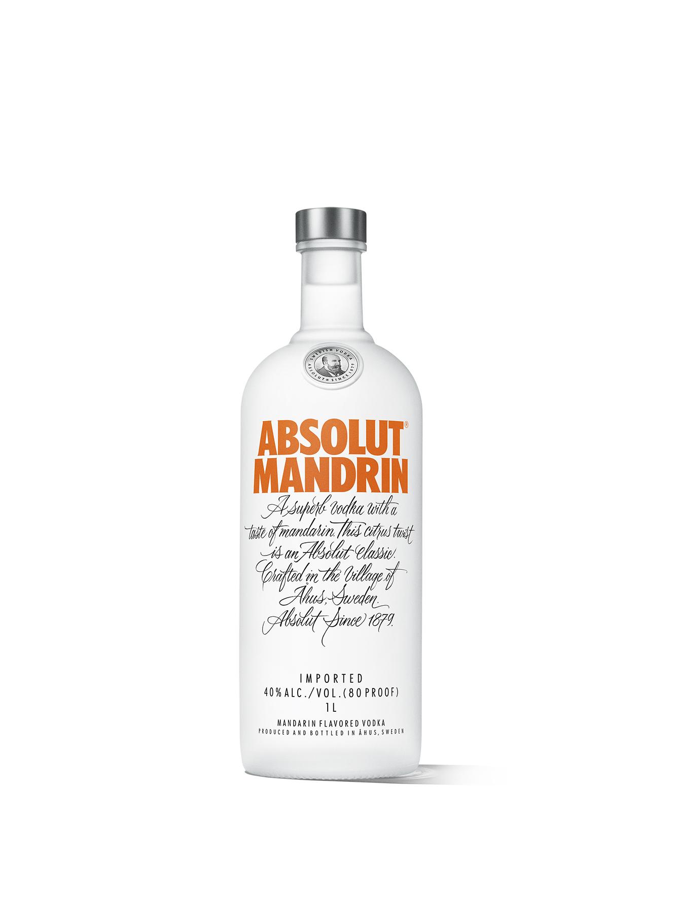 Absolut Mandarin Vodka 1l