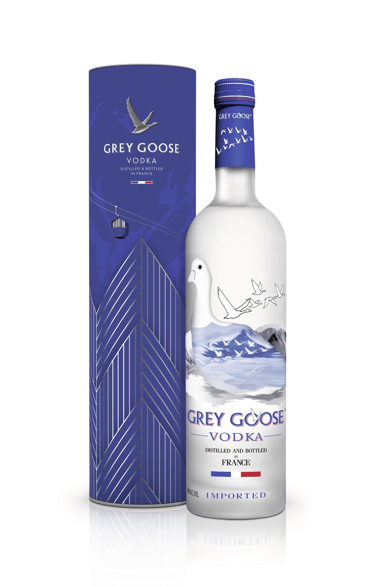 Grey Goose Vodka in Geschenkpackung