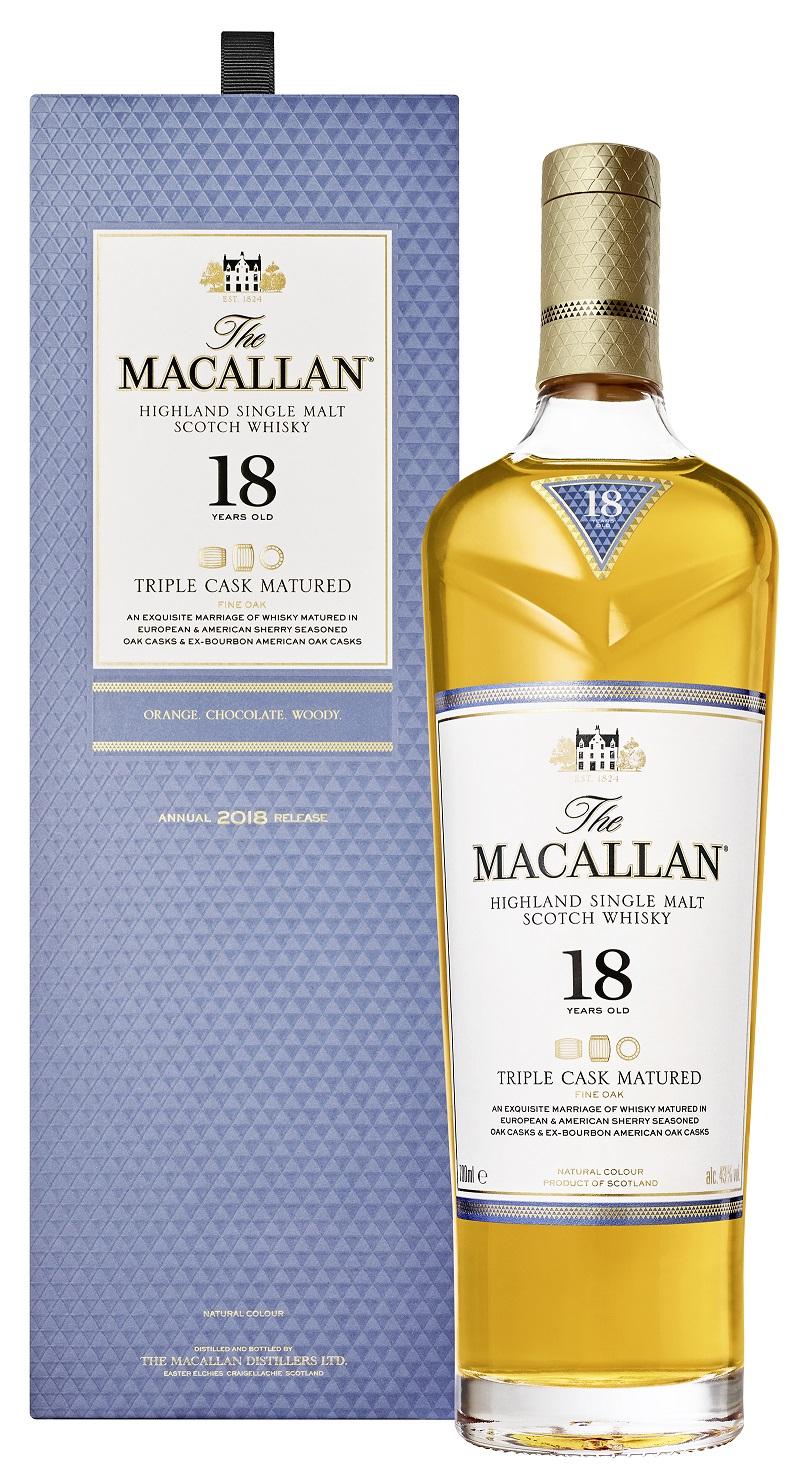 Macallan 18 Jahre Triple Cask Whisky