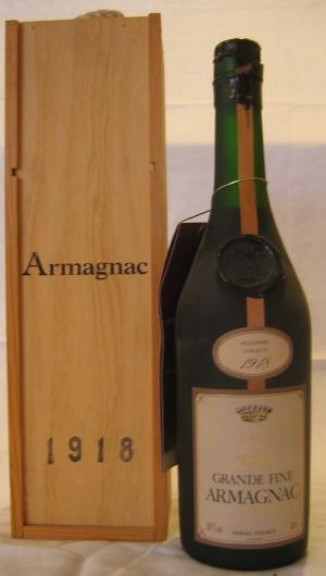 Armagnac 1918 Comte de Perac