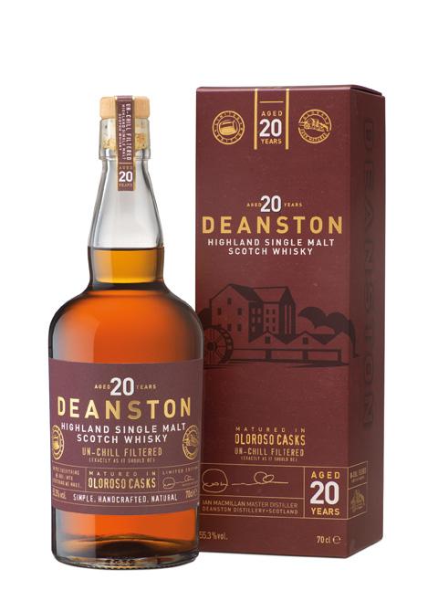 Deanston 20 Jahre Oloroso Sherry Whisky