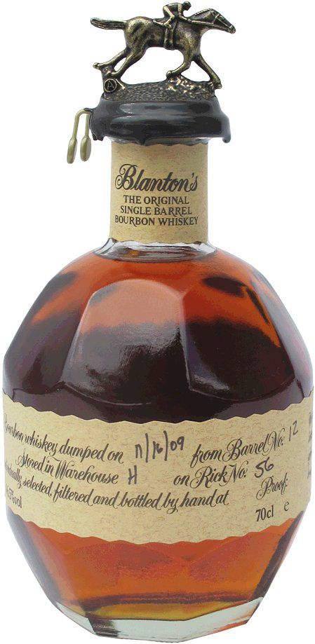 Blanton's  The Original Single Barrel Whiskey
