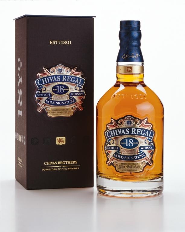 Chivas Regal 18 Jahre Whisky