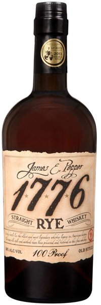 1776 James E. Pepper Rye Whiskey