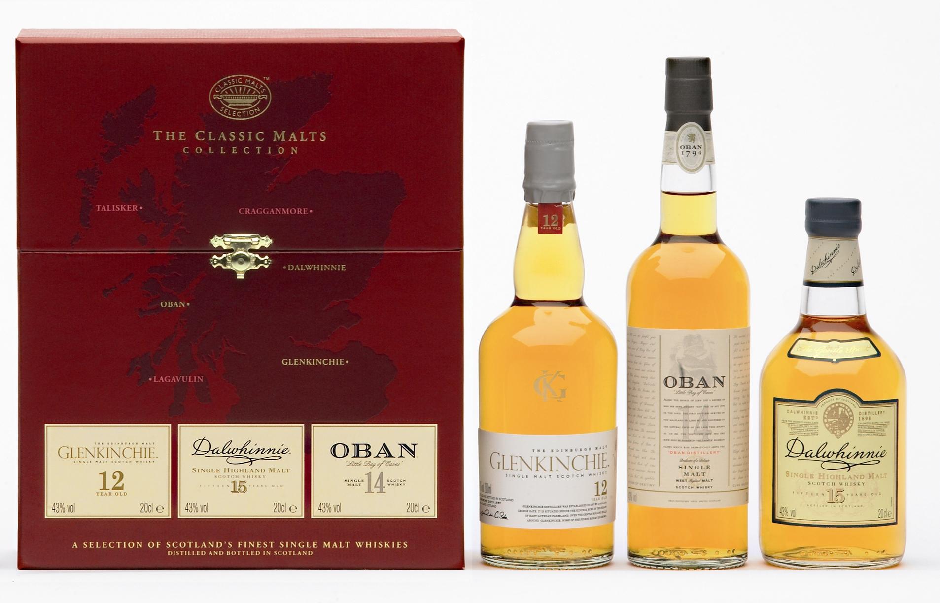 """Geschenkset Classic Malt Whisky """"Gentle"""""""