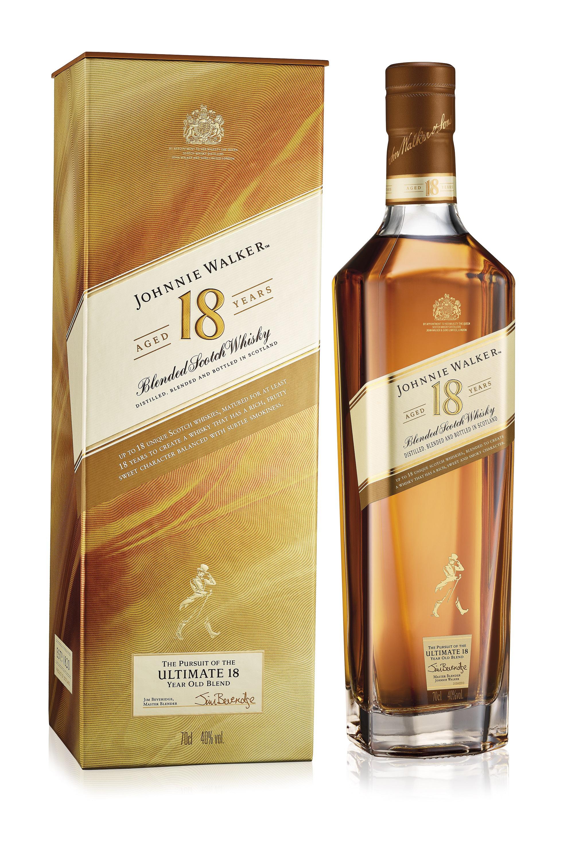 Johnnie Walker 18 Jahre Whisky