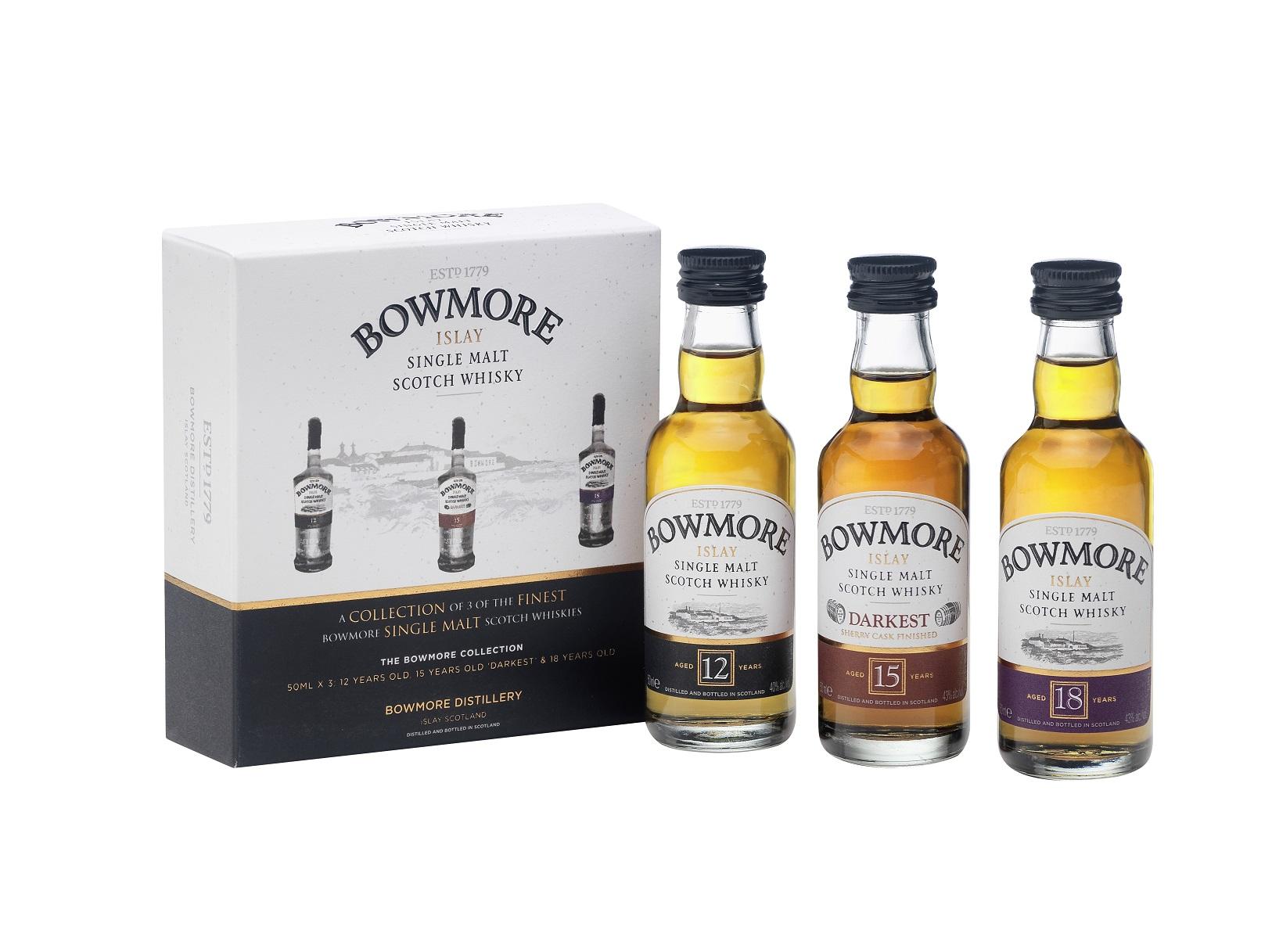 Bowmore Miniaturenset Whisky