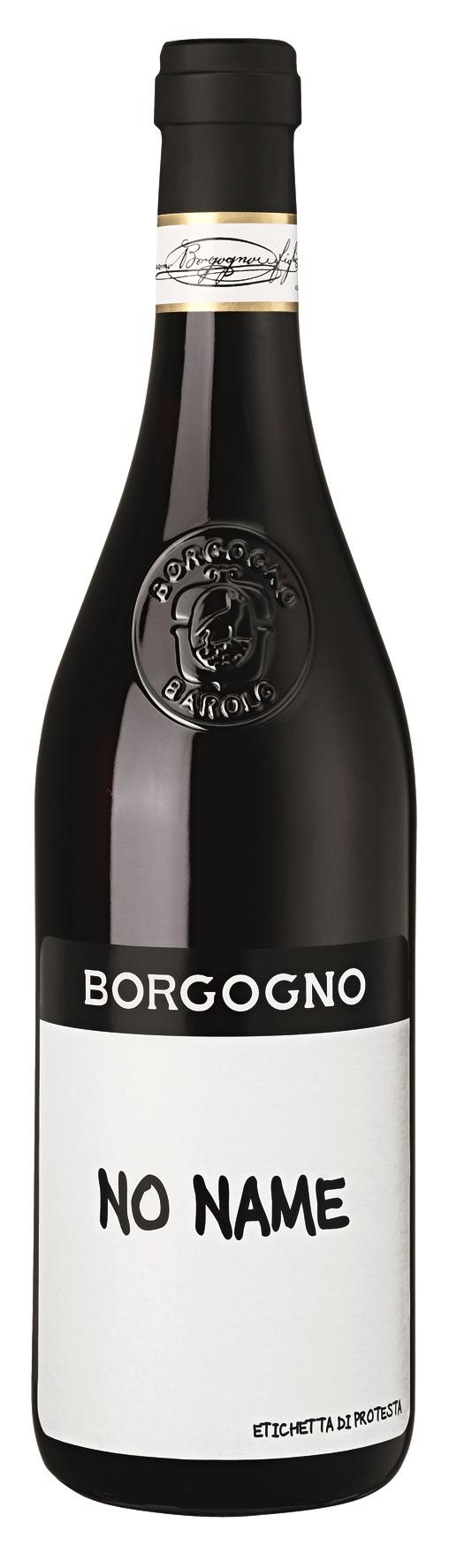 Borgogno No Name Nebbiolo - Etichetta di Protesta