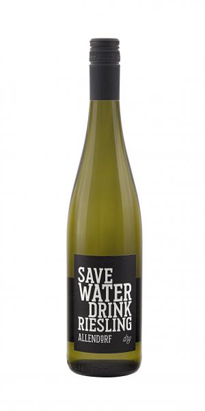 Allendorf Save Water drink Riesling dry