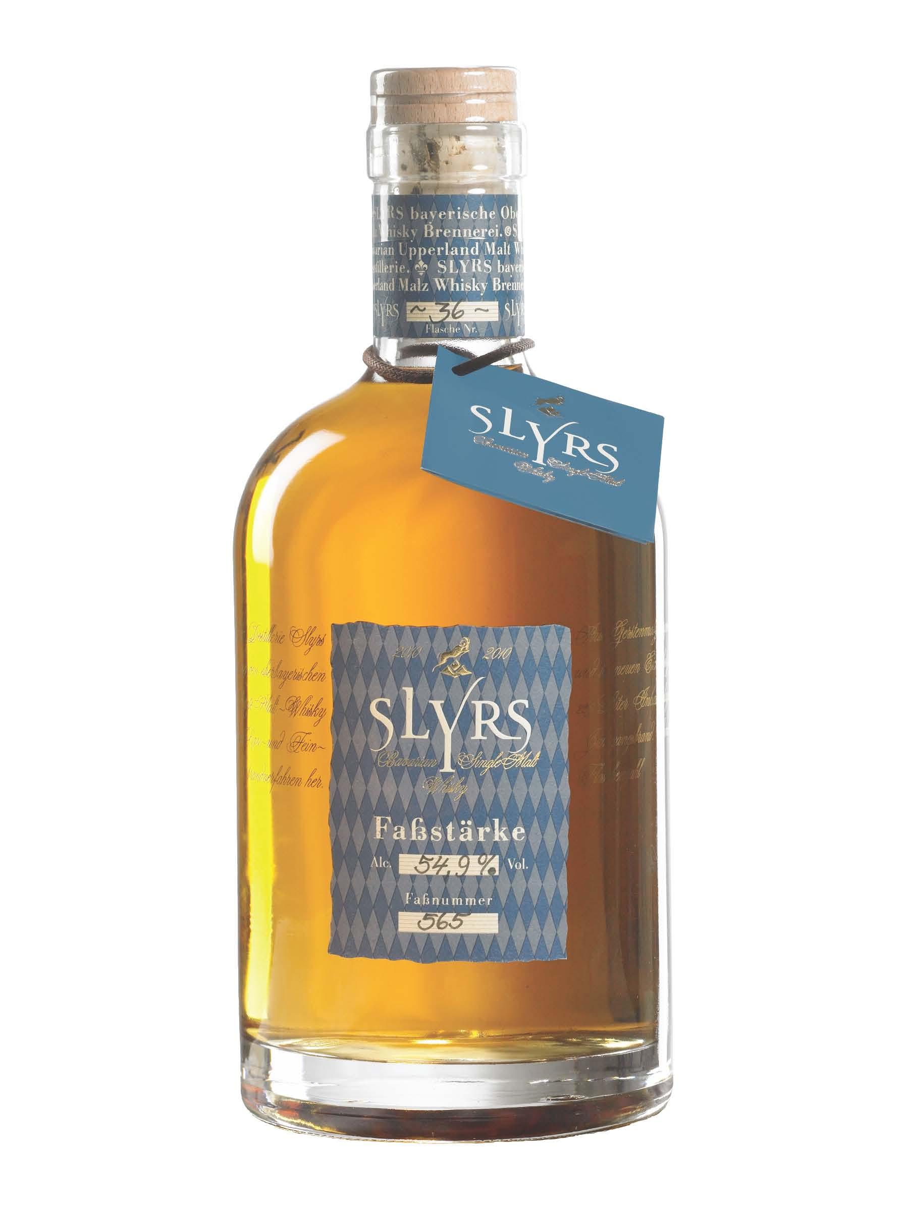 Slyrs Whisky Fassstärke 2010