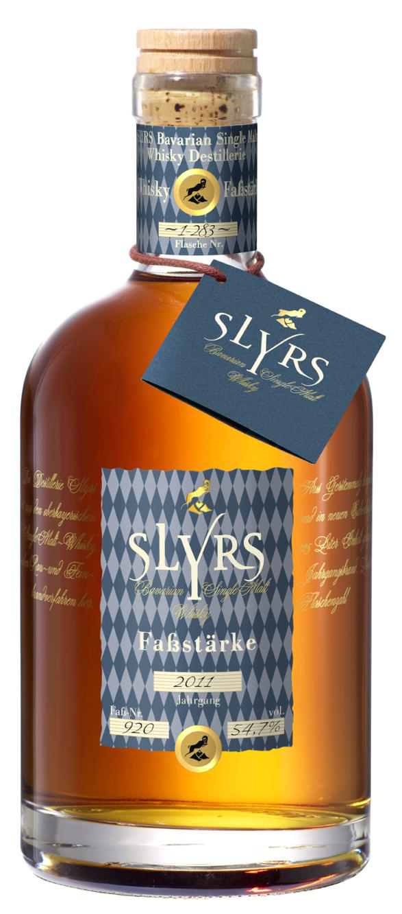 Slyrs Bavarian Single Malt Whisky Fassstärke 2011