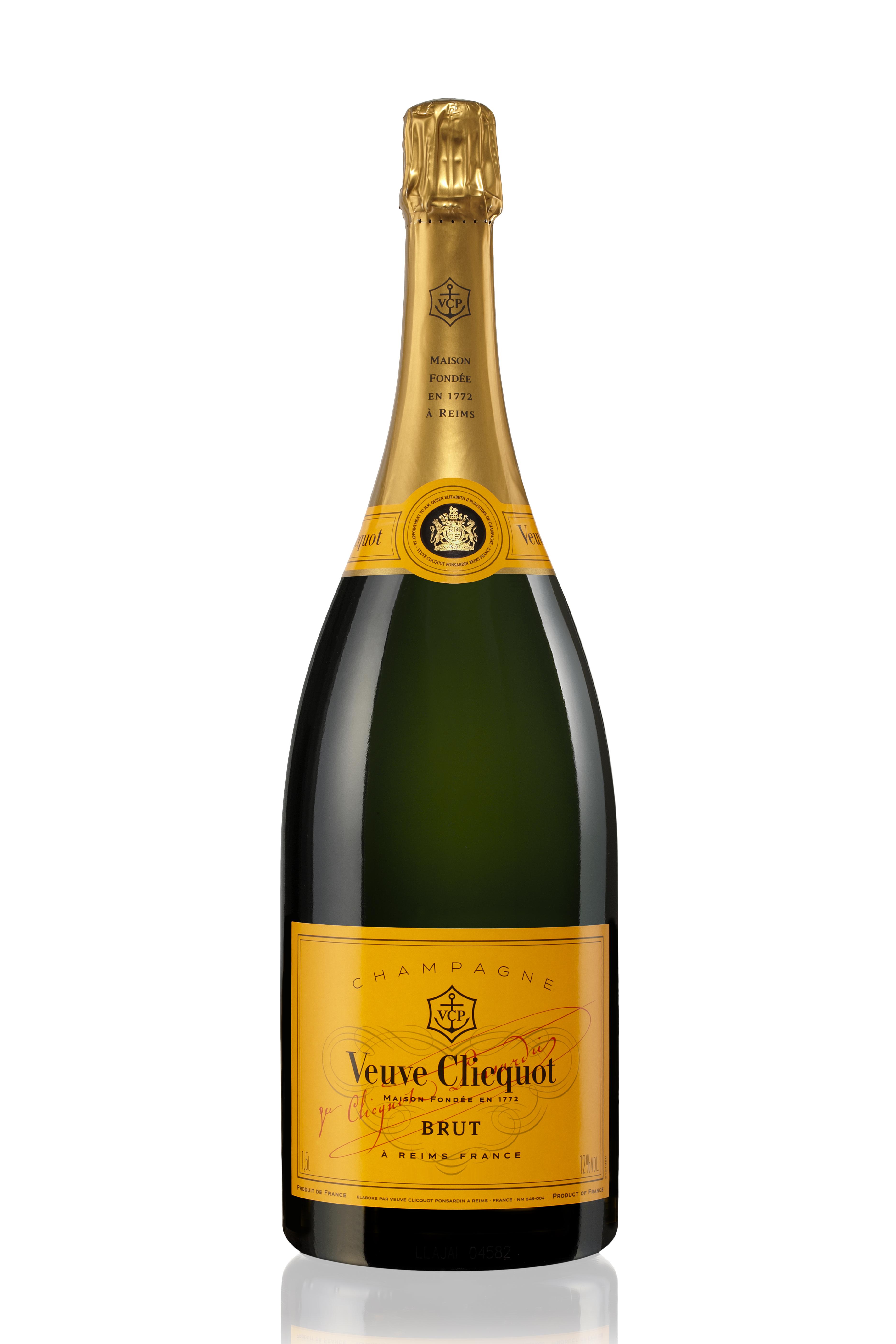 Champagner Veuve Clicquot Magnumflasche