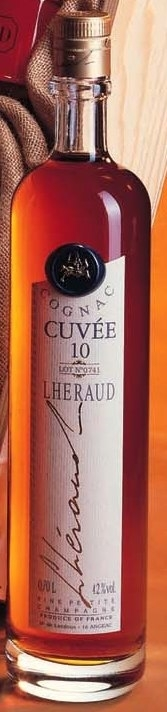 Cognac Lheraud Cuvee 10