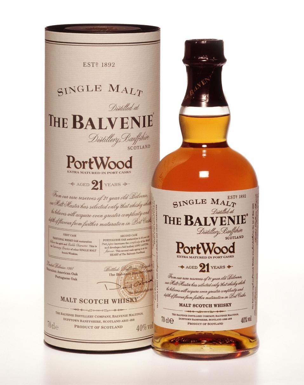 Balvenie 21 Jahre Port Wood Whisky